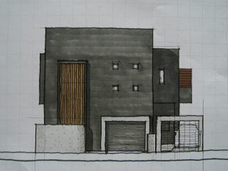 ビルトインガレージハウス