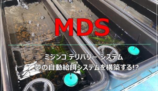 めだかの自動餌やり装置。MDS(ミジンコデリバリーシステム)を作成